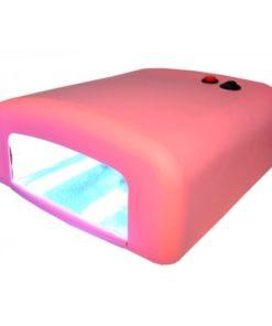 Uv tunnelamp 36w licht roze