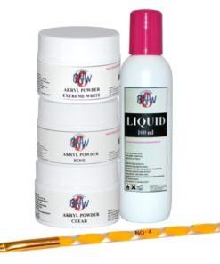 acryl set stappenplan acrylnagels