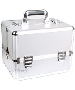 koffer zilver