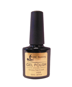 glossy top coat wipe