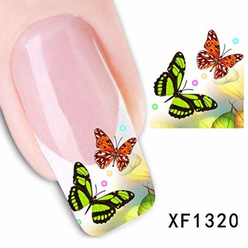 Water decal 2 vlinders