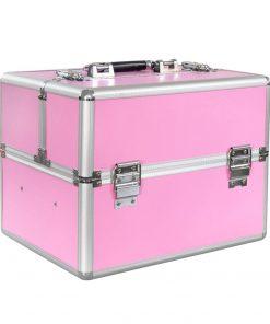 Nagelstyliste koffer roze