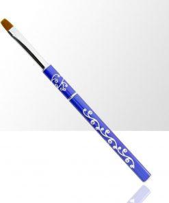 Gel penseel nr 8 blauw