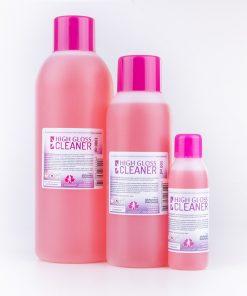 High gloss cleaner